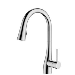 Clyro Polished Chrome Effect Concealed Pull Down Lever Tap 1 Bar